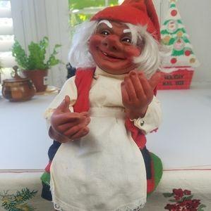 Vintage Norwegian Christmas Nisse elf gnome doll